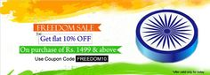 FLAT 10% OFF on Purchase of Rs 1499 or Above!  Shop Here: http://www.buydirekt.com/