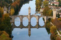 Valentre Bridge - Cahors, France