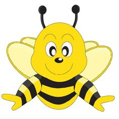 honey bee cartoon cartoon bee bee clipart bee free cute bee