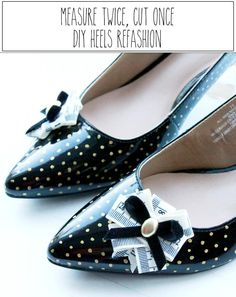 DIY Shoes : DIY Shoe Refashions