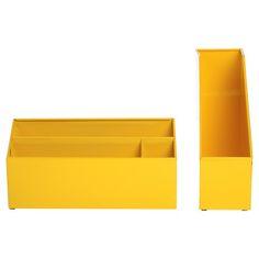 My design inspiration: Chroma Desk Set Yellow on Fab.