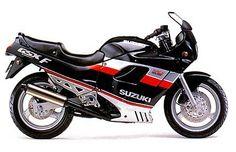 SUZUKI GSX 750 F Katana #motorcycles