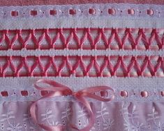 Embroidered Towels, Filet Crochet, Ribbon Embroidery, Smocking, Macrame, Needlework, Kids Outfits, Projects, Pattern