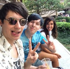 Playlist with Catrific - Cat, Dan and Phil go to: EPCOT #FF