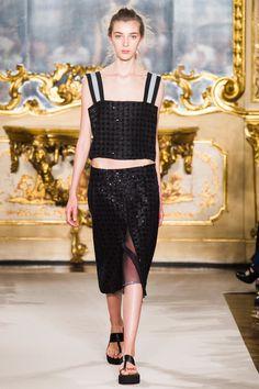 Défilé Cristiano Burani, prêt-à-porter printemps-été 2015, Milan. #MFW #Fashionweek #runway