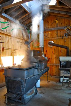 The Two Good Things About a Long, Snowy, Cold New England Winter England Winter, New England, Maple Syrup Tree, Maple Syrup Evaporator, Apple Farm, Pallet Walls, Sugaring, Homestead Living, Lake Cottage
