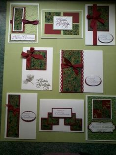 One Sheet Wonder Christmas Cards