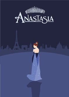 Anastasia Movie Poster on Behance Film Anastasia, Disney Anastasia, Anastasia Broadway, Anastasia Musical, Anastasia Romanov, Princess Movies, Disney Princess Art, Disney Art, Disney Memes