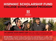 #Hispanic #college #undergrads   these #scholarships are open to students of Hispanic descent who are graduating high school seniors, community colleges students, transfer students, college students, or graduate students. Amount: Up to $5,000 See Details ~ Deadline: March 30, 2016