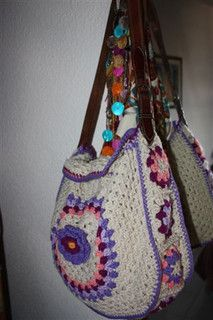 Different use of Granny Squares...Cute!