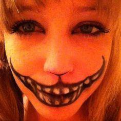 my halloween make-up :)