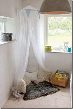 Growing with Montessori : Montessori Bedroom ... reading corner