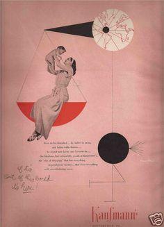 Paul Rand Illustrated Advertisement