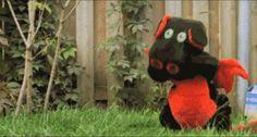 toy dragon VS baby ninja