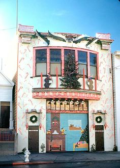 San Francisco Firehouses at Christmas - Western Neighborhoods Project - San Francisco History