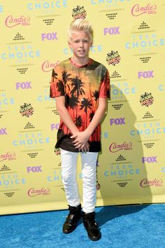 Carson Lueders | All The Looks From The 2015 Teen Choice Awards