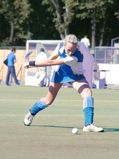 How to Hit the Ball in Field Hockey   iSport.com
