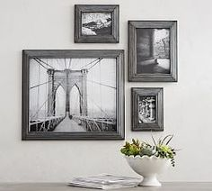 Pottery Barn's picture frames bring stylish solutions to any space. Find picture frames in wood, silver and brass finishes and create a personalized gallery wall. Painting Frames, Painting On Wood, Gallery Wall Frames, Gallery Walls, Art Gallery, Barn Pictures, Home Decor Sale, Bath And Beyond Coupon, 6 Photos