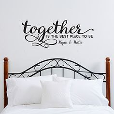 Together...Personalized Vinyl Wall Art