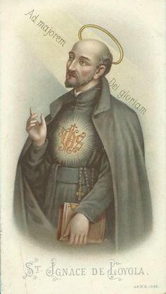 For the Greater Glory of God! Catholic Orders, Catholic Saints, Francis Xavier, St Francis, Religious Icons, Religious Art, St Ignatius Of Loyola, Faith In Love, Cristiano
