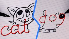 4 FUNNY KIDS TRICKS TO DRAW IN JUST 1 MINUTE