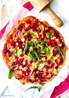 Pitaleivät | Reseptit | Kinuskikissa Vegetable Pizza, Vegetables, Christmas Recipes, Food, Pineapple, Essen, Vegetable Recipes, Meals, Yemek