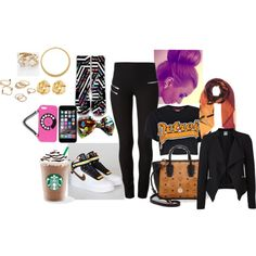 """""""out and about"""" by beautifulkym on Polyvore"""
