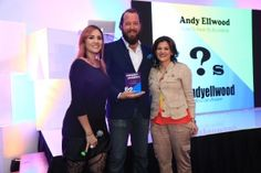 Con Andy Ellwood y Alejandra Sanchez en I LOVE 2 Break my Boundaries de Victoria 147 <3