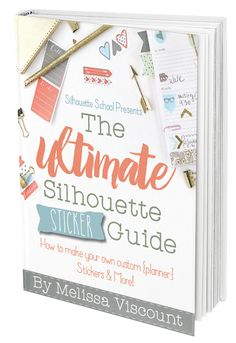 Ginger Snap Crafts: The Ultimate Silhouette Sticker Guide {giveaway}