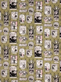 green witch gallery fabric Alexander Henry The Ghastlies