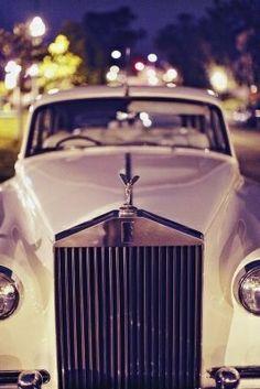 rent vintage car to leave wedding in