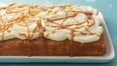 Calling all carrot cake lovers looking for an easy upgrade to the classic dessert! With the addition of fresh carrot and a salted caramel sauce, this dessert takes carrot cake to a whole new level.
