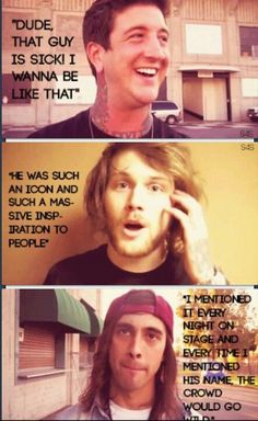 Danny, Austin, and Vic talking about Mitch. *cries* Stomp in heaven, Mitch.