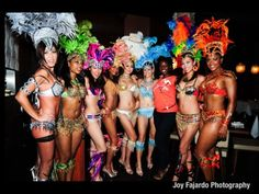 Trinidad Carnival Masqueraders.. Can't wait to wear one <3