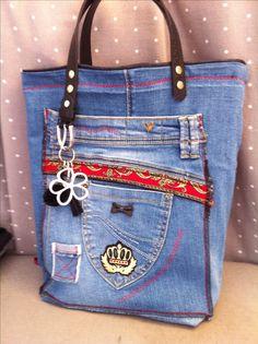 Jeans récup Pascaline 2