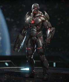Cyborg Injustice 2, Looks Cool, Teen Titans, Cyberpunk, Dc Comics, Movie Tv, Video Game, Concept Art, Darth Vader