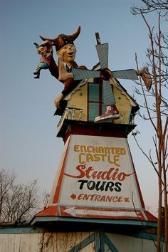 Enchanted Castle - I have been there. I looks just like this, I heard that it was closed due to a fire.