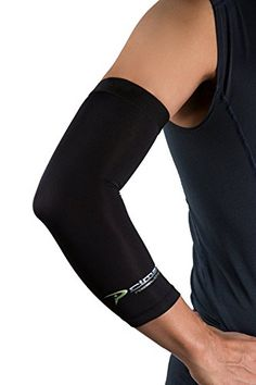 Copper Elbow Sleeve The BestCompression Arm Sleeve  Great for Tennis Weightlifting Golf Baseball  Basketball  Click the Yellow Button at the Top of This Page to Protect your Elbow Joints *** You can get additional details at the image link. Note:It is Affiliate Link to Amazon.