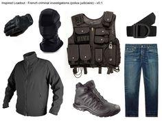(t) Inspired Loadout : French criminal investigations (police judiciaire) - v0.1