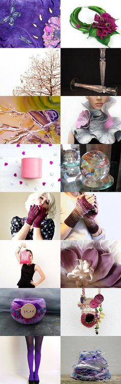 LILAC LADY  by Sonja Bikić, Etsy treasury! Go take a look at some great stuff on Etsy! My image is of Icy pink Tree Branches!
