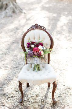 Rich jewel-tone bouquet: http://www.stylemepretty.com/little-black-book-blog/2015/01/28/organic-jewel-tone-wedding-inspiration/   Photography: Koman - http://komanphotography.com/