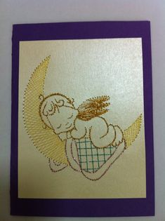 Photo: Embroidery Cards, Embroidery Patterns, Card Patterns, Doll Patterns, Chicken Scratch Embroidery, Pin Card, Sewing Cards, Iris Folding, Pebble Art