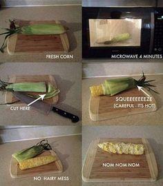 De állermakkelijkste manier om mais gaar te krijgen ♥ Foodness - good food, top products, great