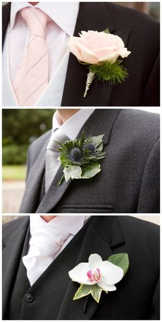 wedding buttonhole by planet flowers, photo by rankine, found via littlemisswedding blog