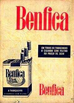"the-portuguese-affair: ""Cigarettes ""Benfica"", advertisment. Posters Vintage, Vintage Advertising Posters, Old Advertisements, Vintage Ads, Old Scool, Cigarette Brands, Old Commercials, Good Old Times, Old Ads"