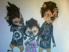 Werewolf Kids from Hotel Transylvania