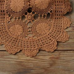Hand crocheted doilies  crochet doily  lace by DamovFashion