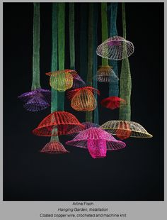 Arline Fisch: Hanging Gardens April 1- May 31, 2014 at http://mobilia-gallery.com/artists/afisch/