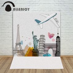 16.97$  Buy now - http://alia3p.shopchina.info/go.php?t=32753720029 - backdrops for photo fabric vinyl eiffel tower backdrop Buildings romantic tourism background photography photocall camera 16.97$ #buychinaproducts