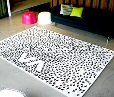 arrows rug